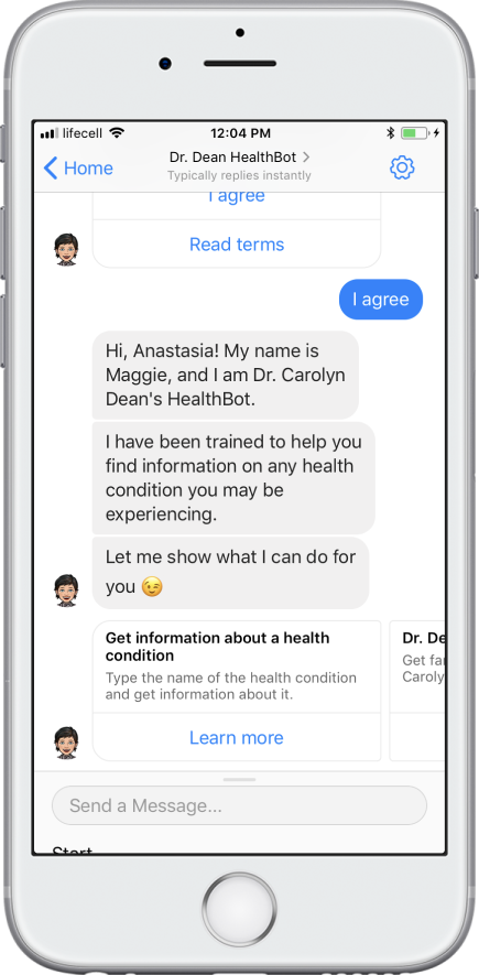 healthcare chatbot