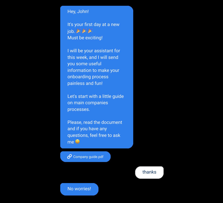 internal chatbot