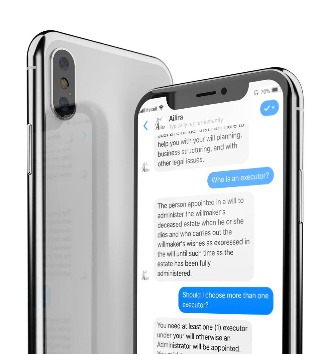 Ailira legal chatbot