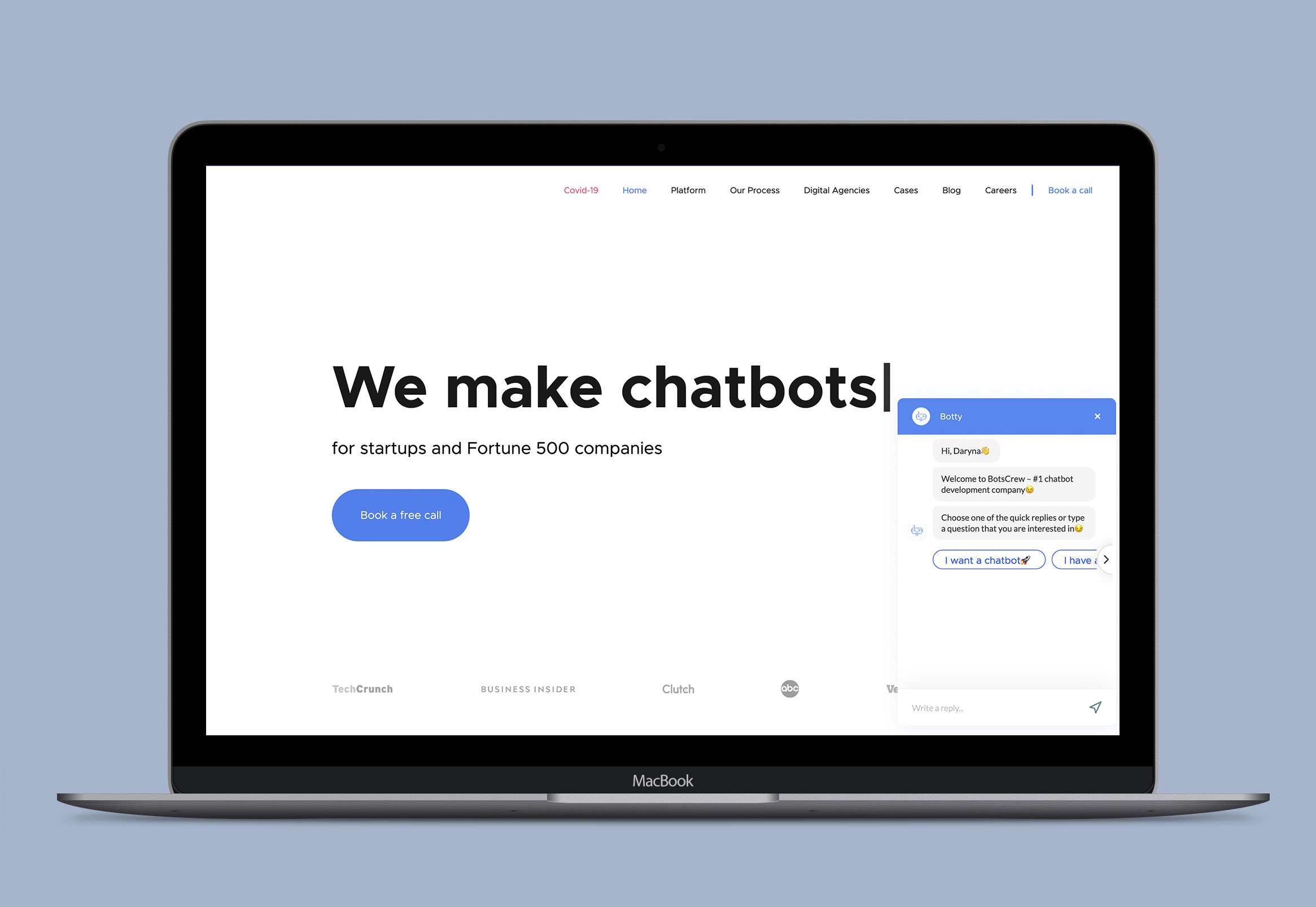 Web chatbot