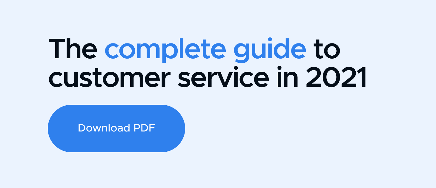 Guide to Customer Service in 2020