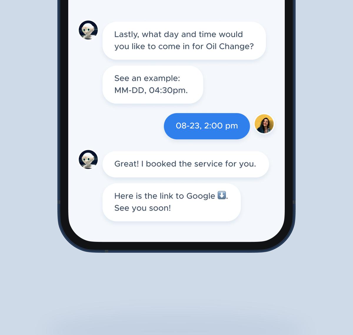 Lead generation chatbot