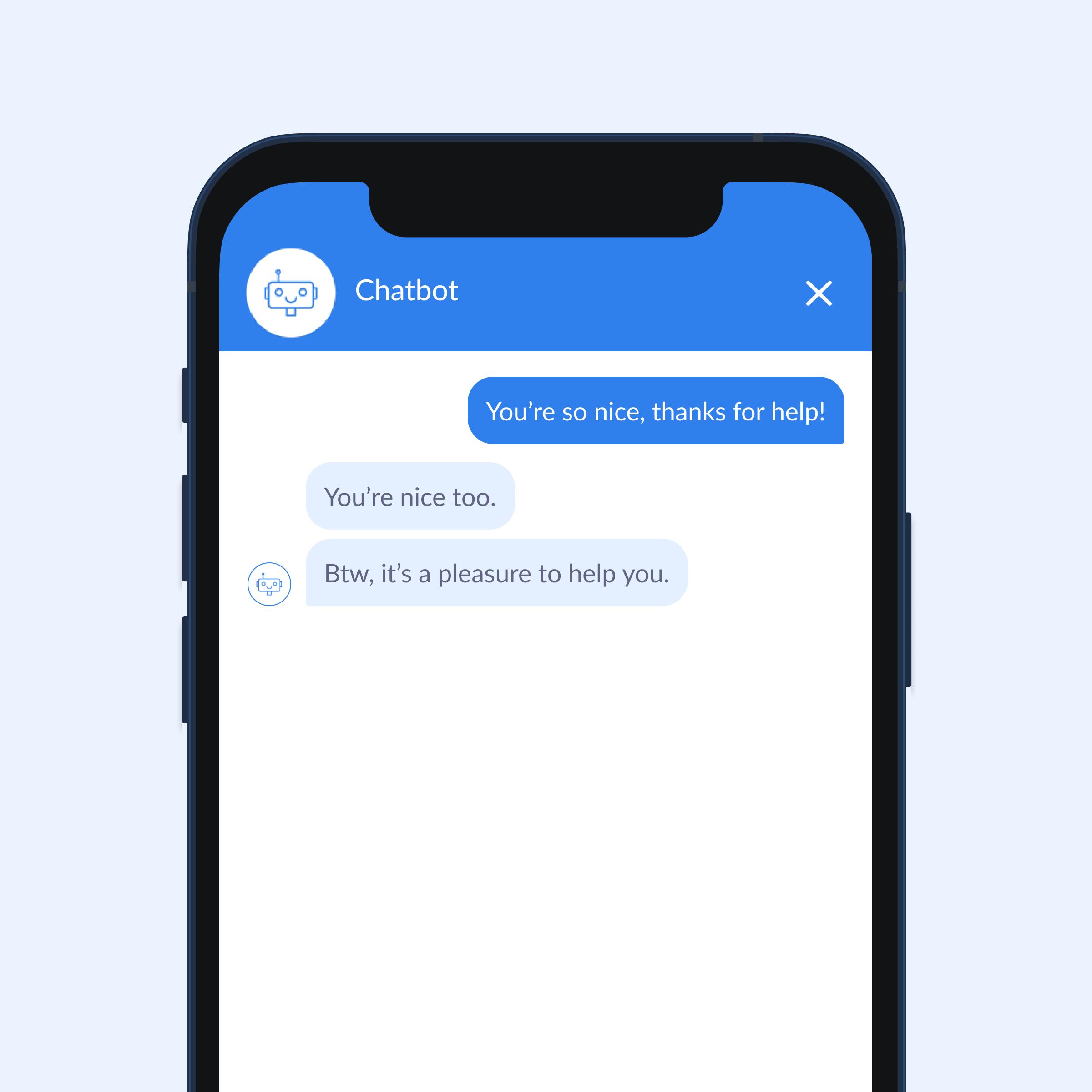 chatbot small talk